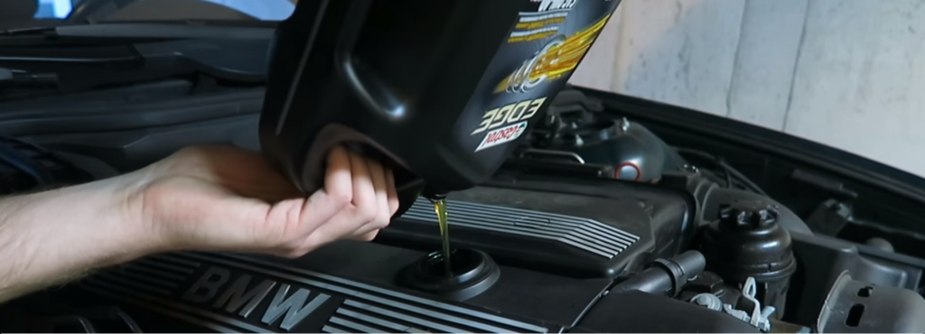 How to change BMW oil. How to change oil in a BMW E39