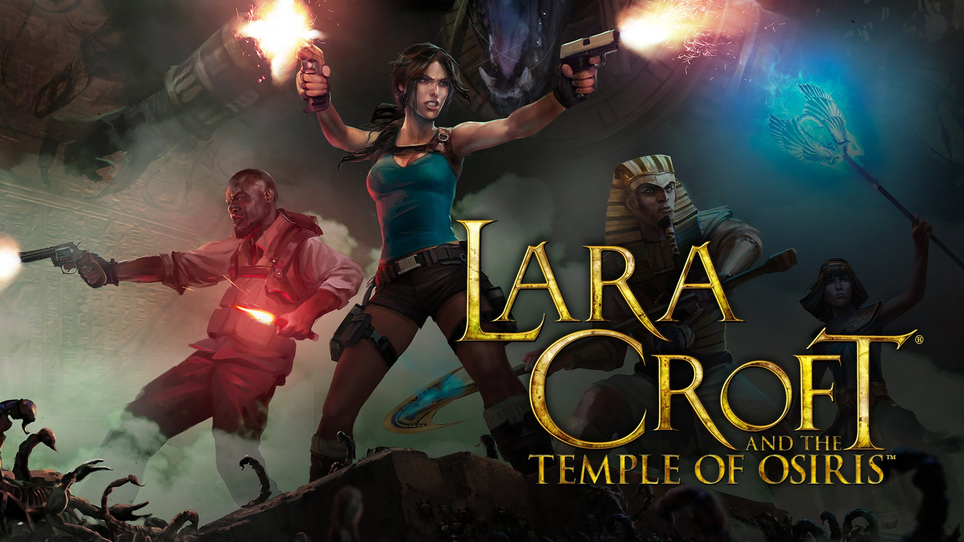 LARA CROFT AND THE TEMPLE OF OSIRIS for free on Steam