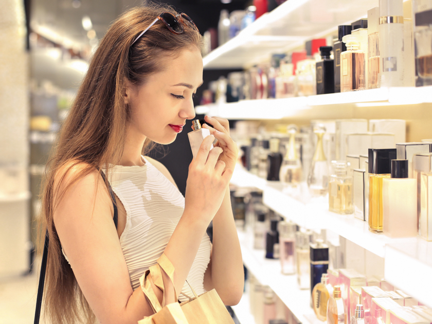 Mmm, it smells good ... Perfume
