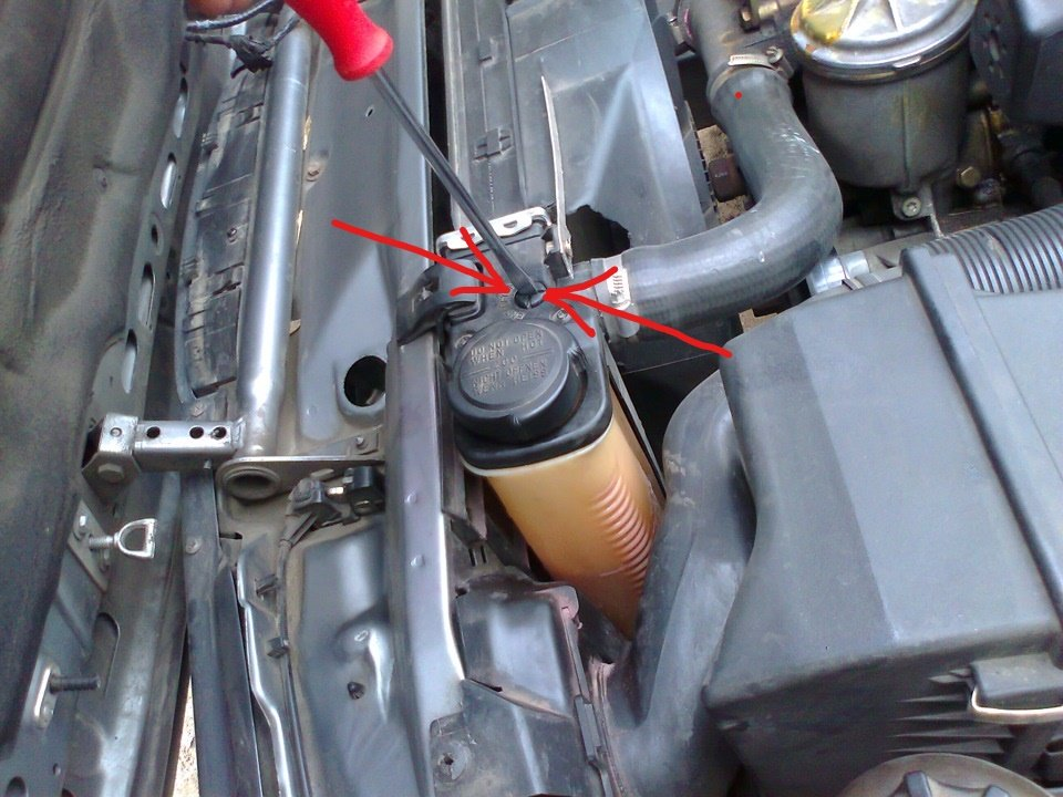 How to bleed a cooling system in a BMW E39. Rules for pumping the cooling system