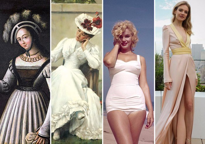 Beauty or fashion duty? Something about past standards