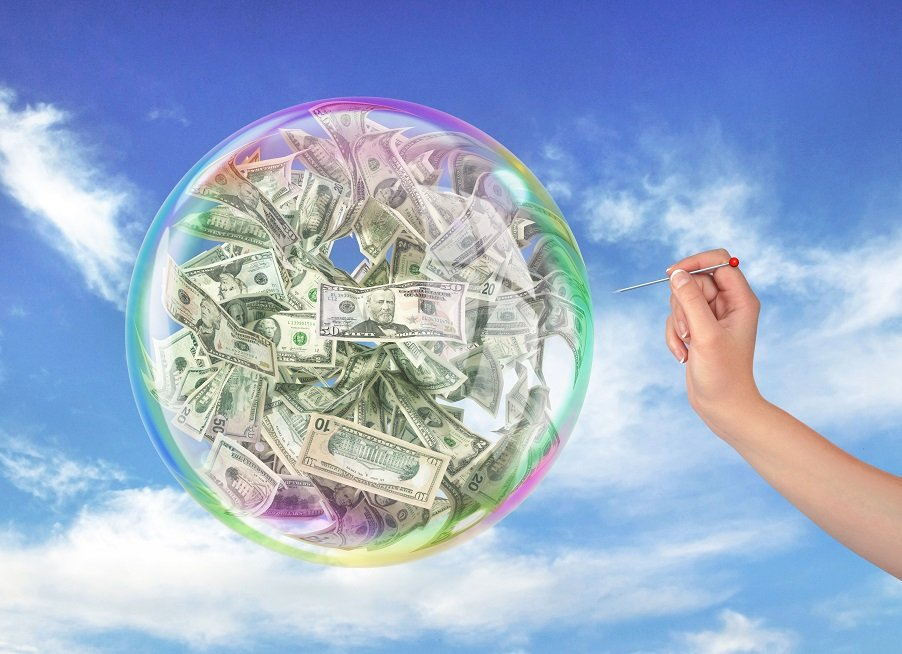 Economic bubbles and who inflates them