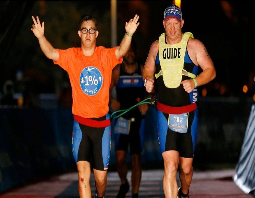 First person with Down syndrome to complete IronMan