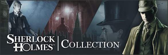 THE SHERLOCK HOLMES COLLECTION Big Discount in Steam Store (90%)